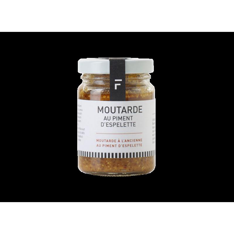 moutarde aux piments d 39 espelette forge adour. Black Bedroom Furniture Sets. Home Design Ideas