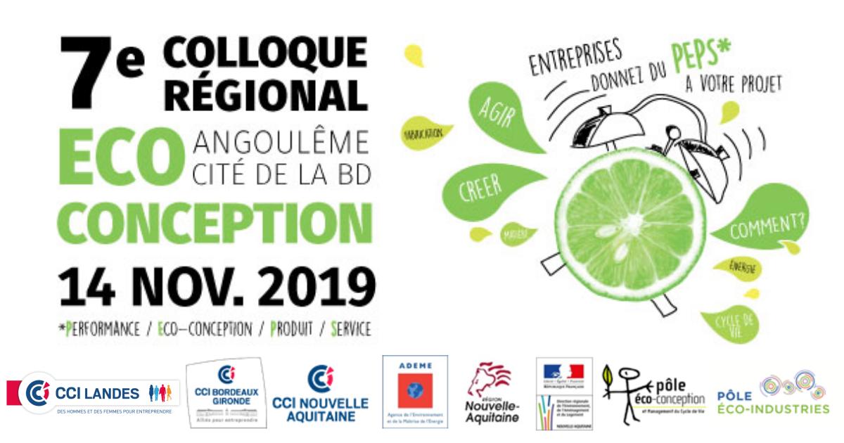 7°colloque sur l'éco-conception en Nouvelle-Aquitaine