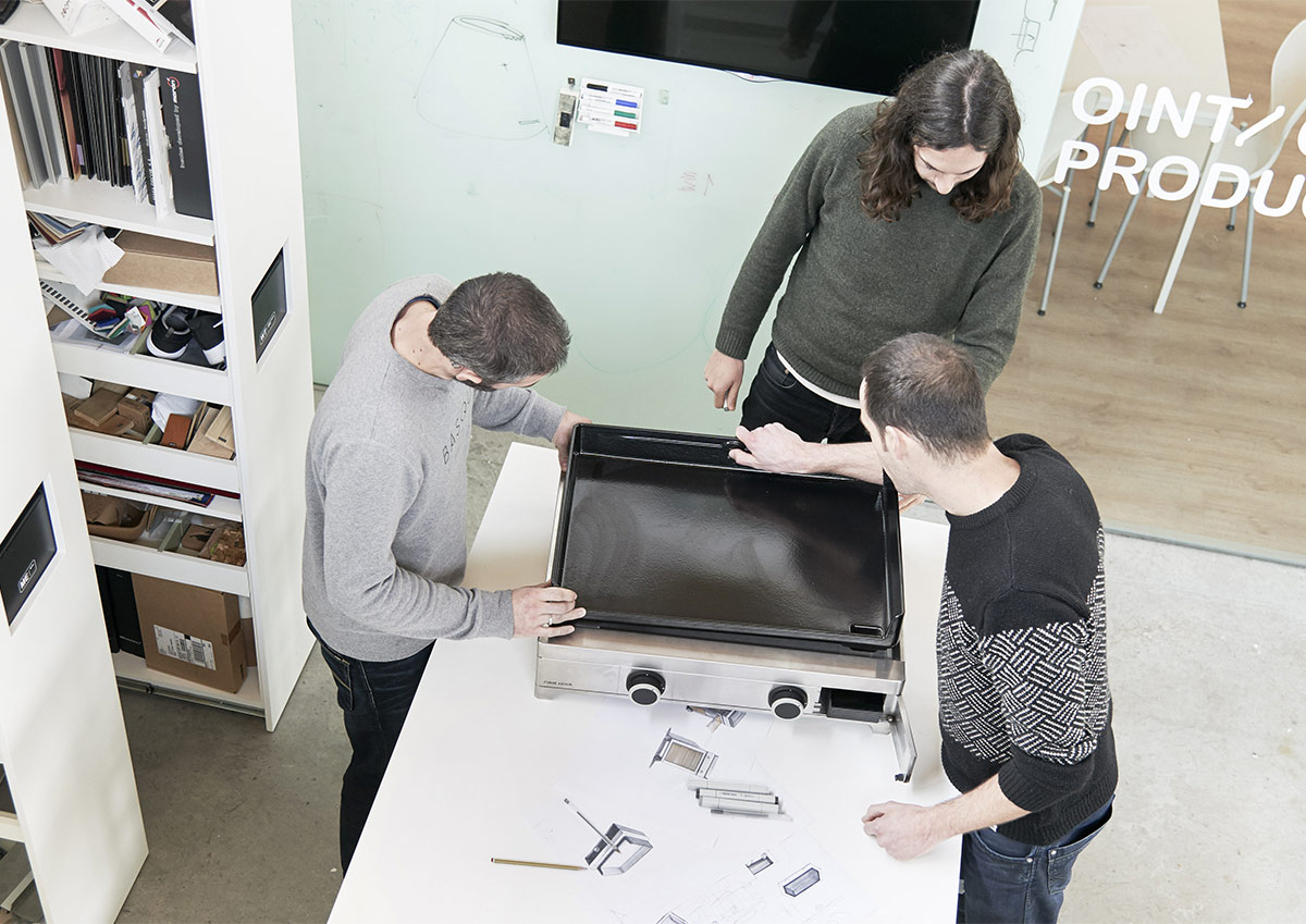 Plancha Design Dhemen Forge Adour