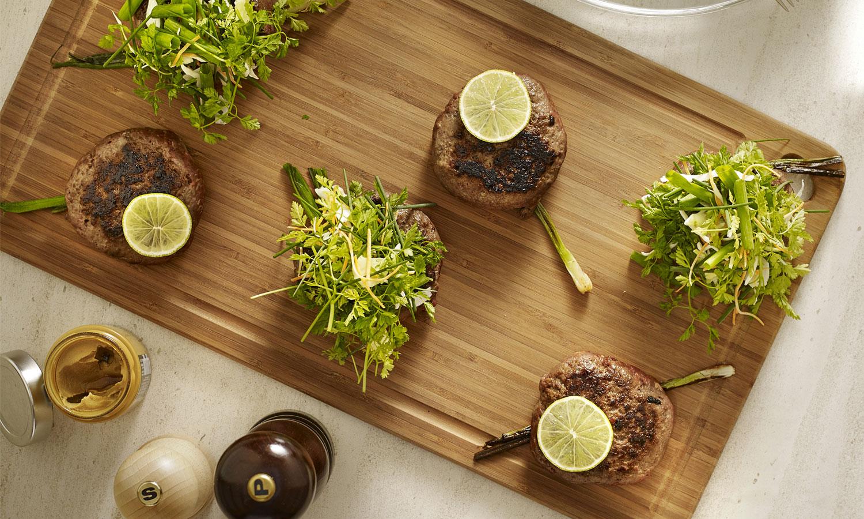 Recette plancha Steak de bœuf Thaï et salade d'herbes