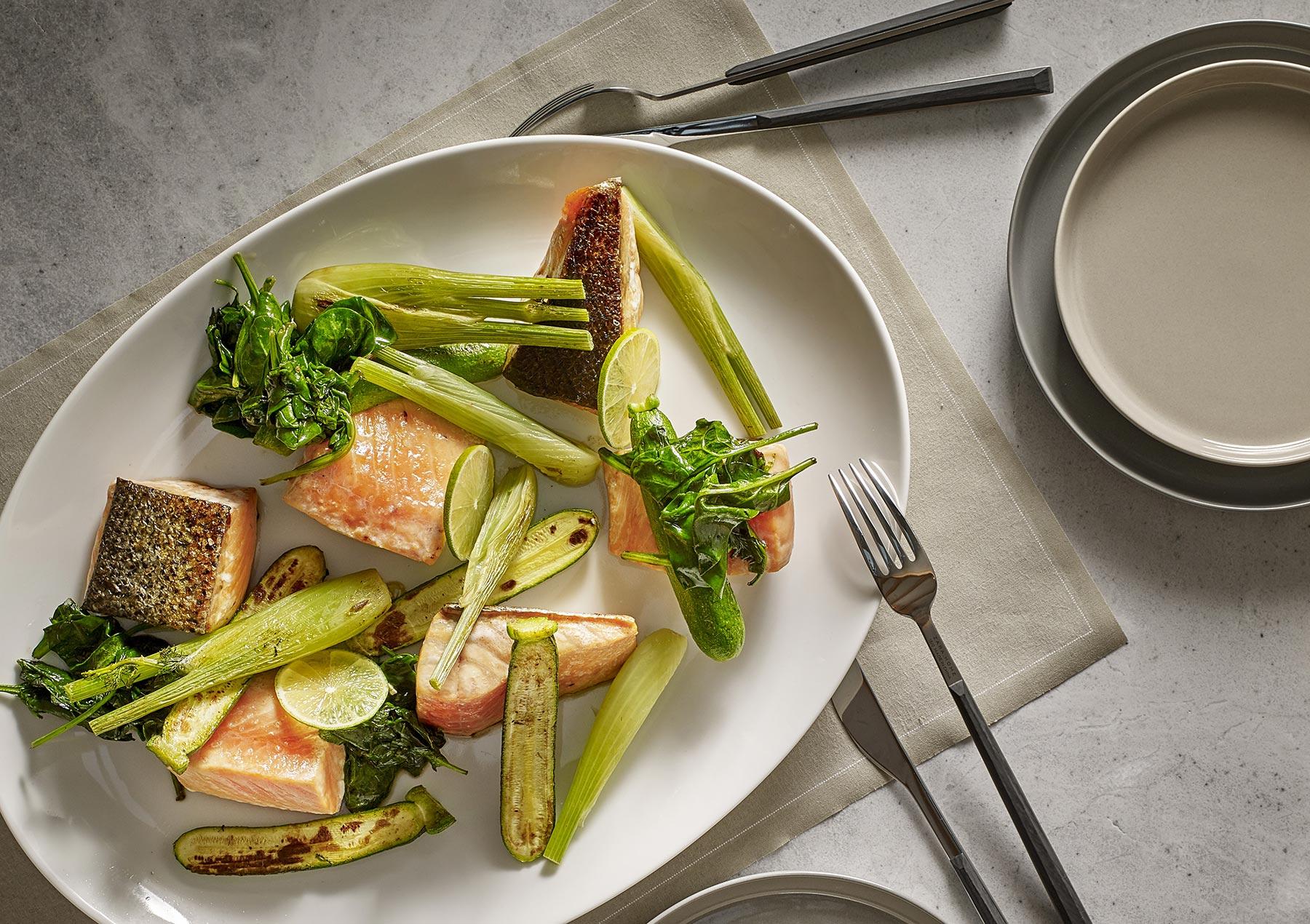 recette de pavé de saumon