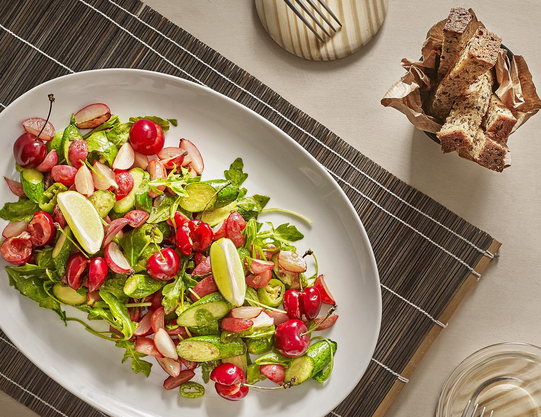 Recette de poelee de légumes à la plancha