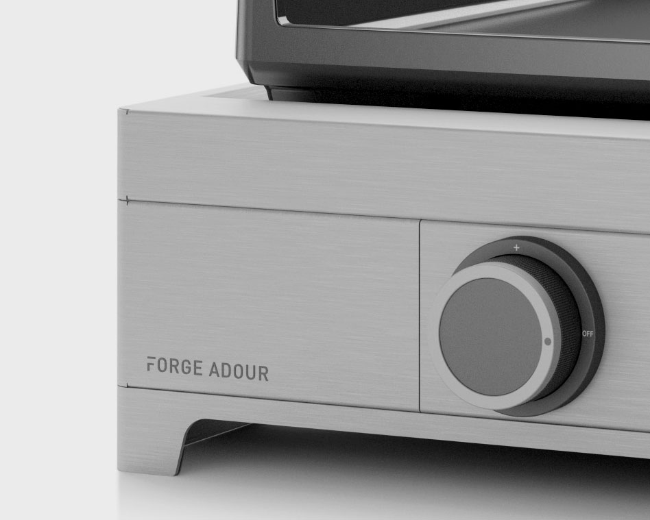 Modern g75 i forge adour for Nettoyage plancha fonte emaillee forge adour